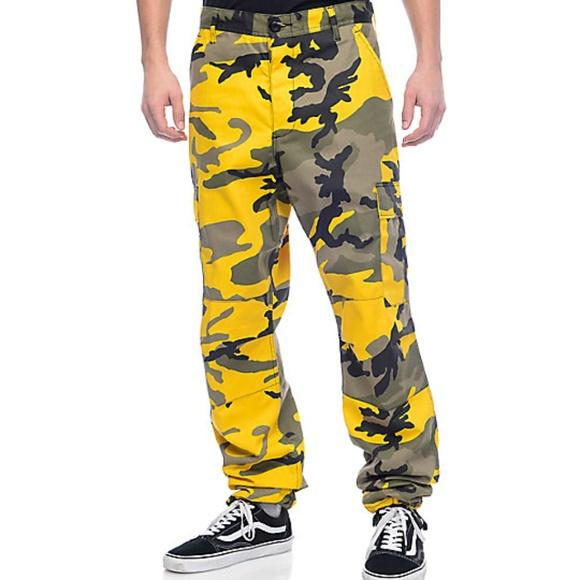 Rothco Other - Rothco BDU Stinger Yellow Camo Cargo Pants